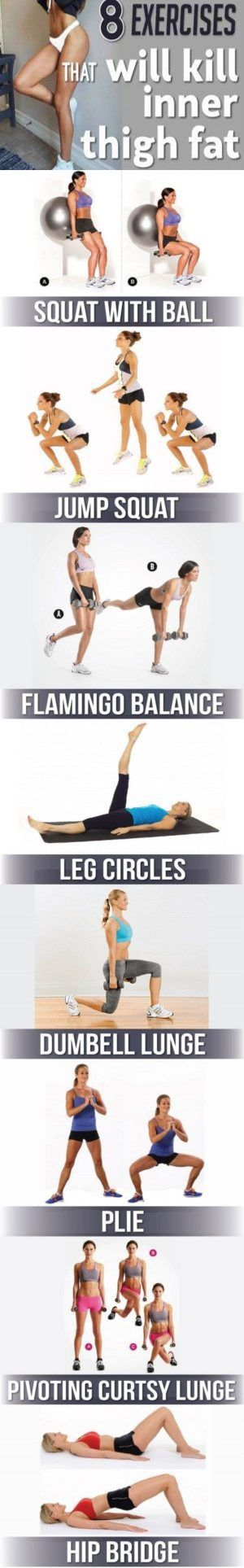 8 Exercises That Will Kill Inner Thigh Fat – Lifee Too