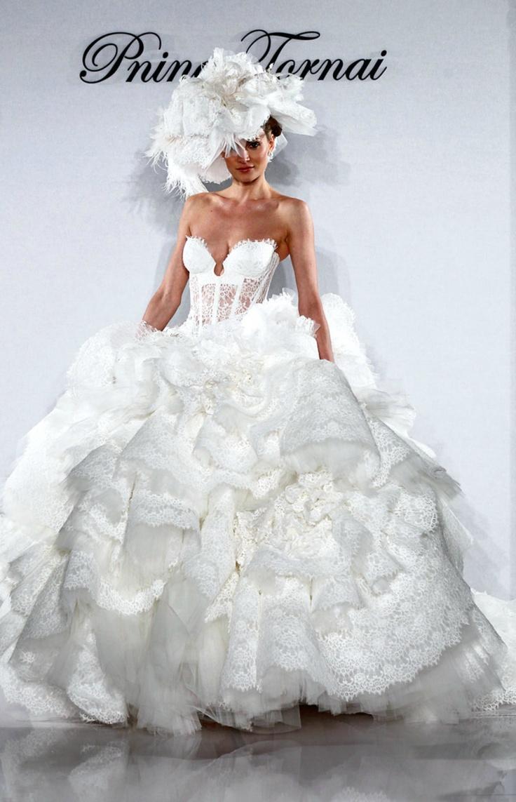 Pnina Tornai 2012 Bridal Collection, needs a hint more dress & less lingerie