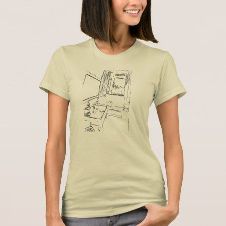 The Resting Room T-Shirt - click/tap to personalize and buy