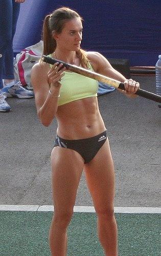 Pole Vaulting and Pole Dancing- Yelena Isinbayeva - Jenn Stuczynski - Zimbio