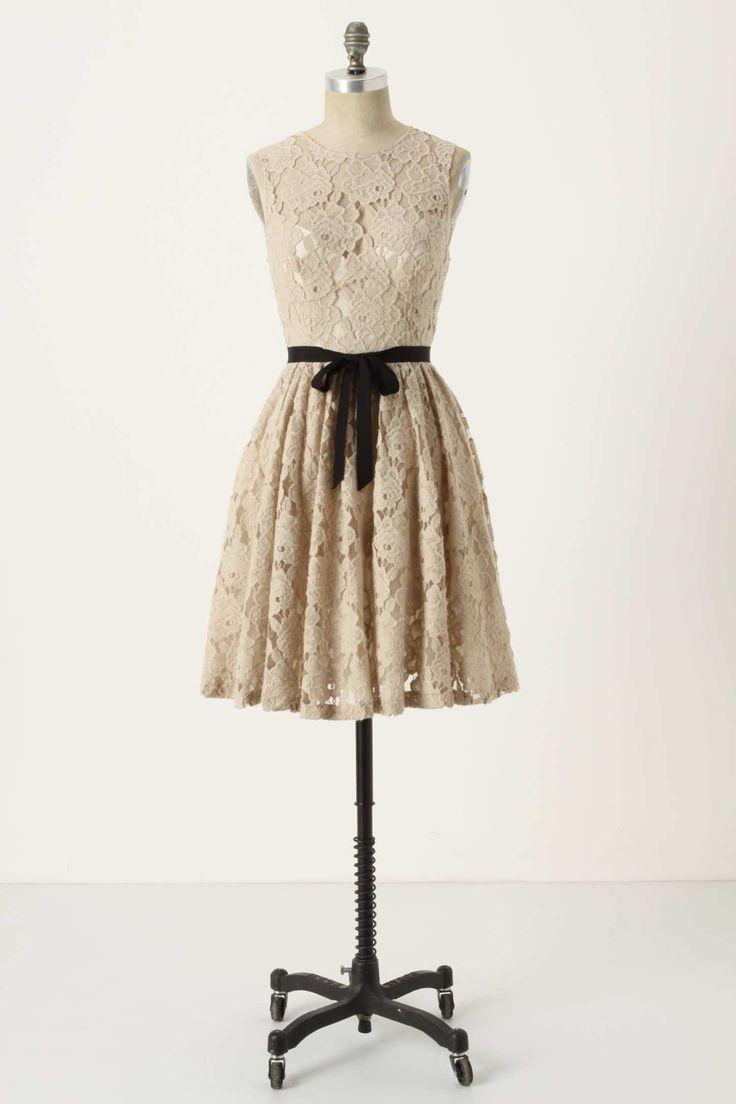BW lace dress