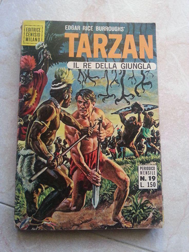 TARZAN IL RE DELLA GIUNGLA- MENSILE N. 19 - Ed. CENISIO - 1969- OTTIMO