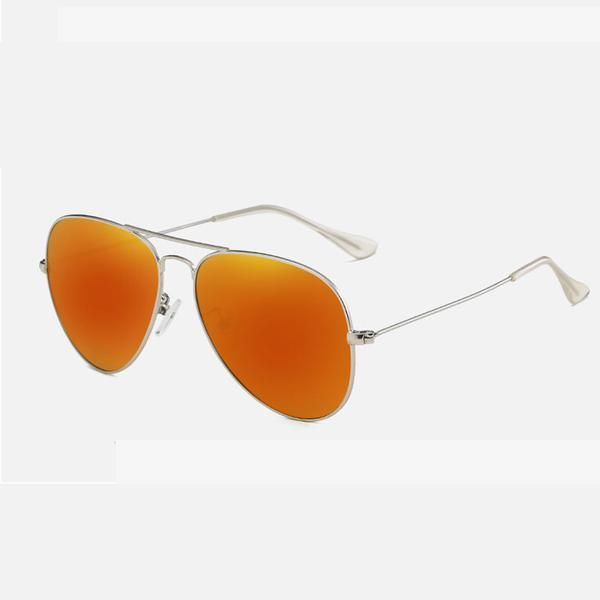 7db577af0c  Fashion  BestPrice Unisex Retro HD TAC Orange Polarized Aviator Sunglasses  UV400 Women Pilot Men