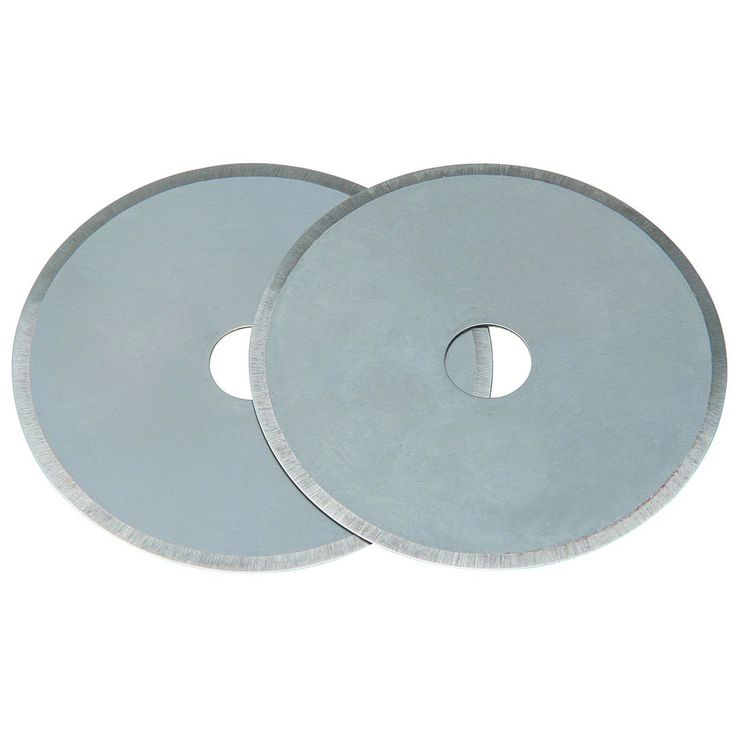 2- 45mm carpet blades for $2 instead of rotary cutter blades at a much higher cost.  A quilter tipped me off to this and they work just the same!