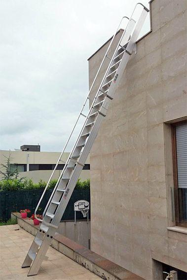 Escalera de acceso a azotea