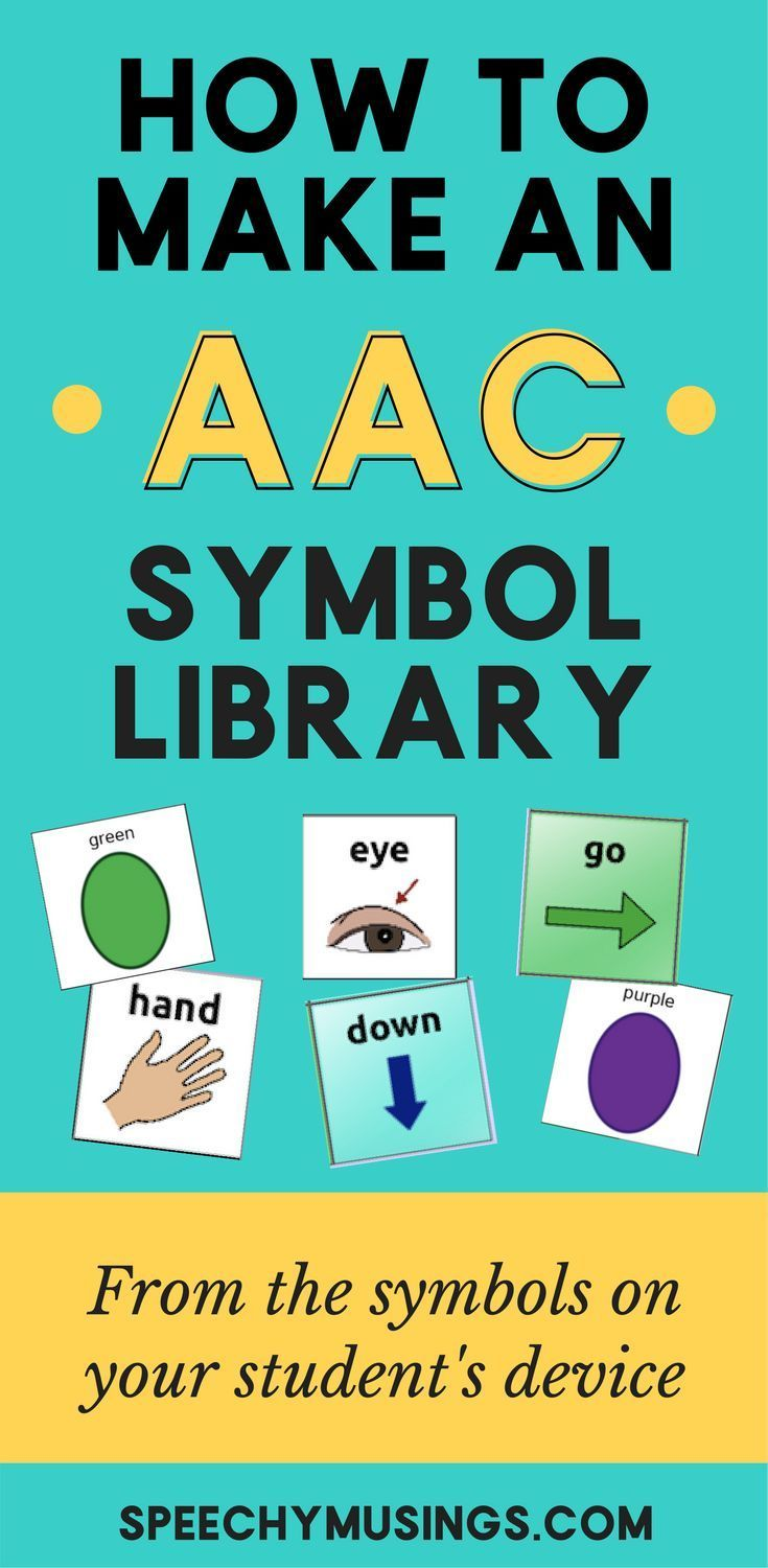 A simple how-to guide on how I make shared AAC symbol libraries for all staff to use. Great for finding symbols to use in adapted materials! From Speechy Musings.