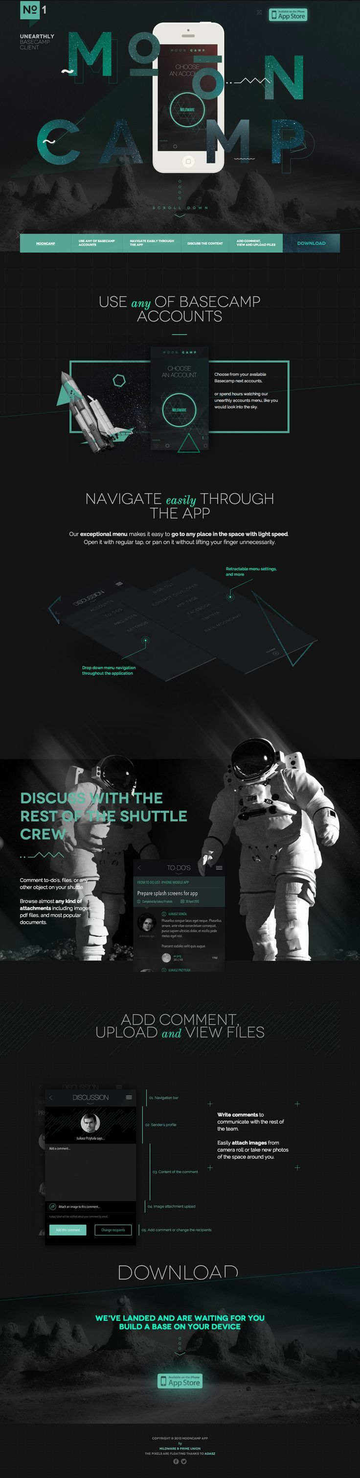 Space webdesign site