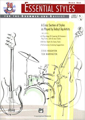 Los libros incluyen gráficos escritos de cada selección y consejos de performance para  batería y  bajo.