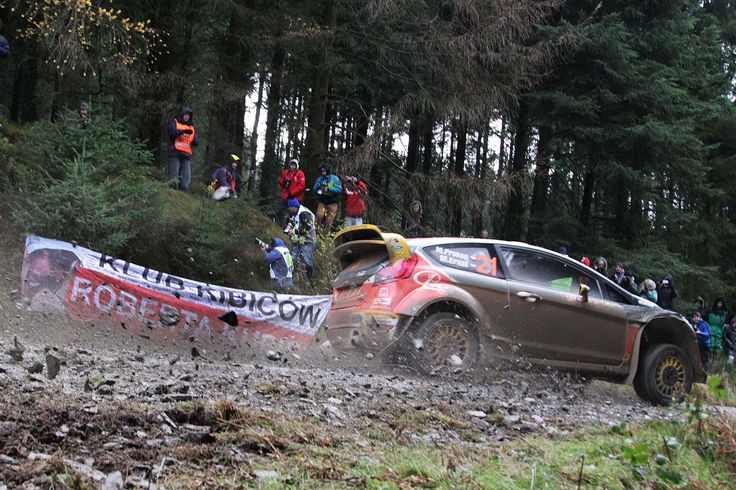GALLERY & VIDEO: Wales Rally GB latest: Ogier wins qualifying stage for pick of the start position at tonight's opening leg