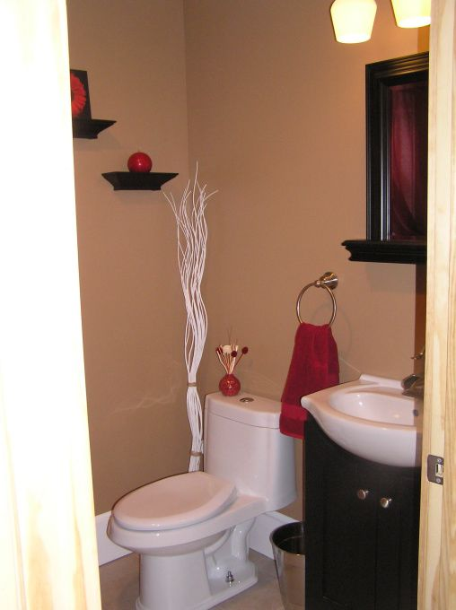 good Half Bath Painting Ideas Part - 10: Small Half Bath Ideas | Re-post...small half bath-laundry, just added on a  small half bath ... | Home DeCore | Pinterest | Bathroom, Half baths and  Small ...