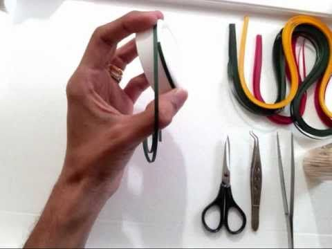 How-to make paper quilling jewellery earrigs for beginers and professionals.