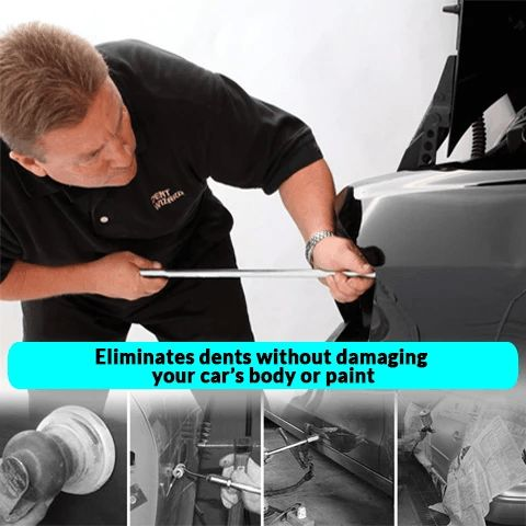 how to remove auto dents