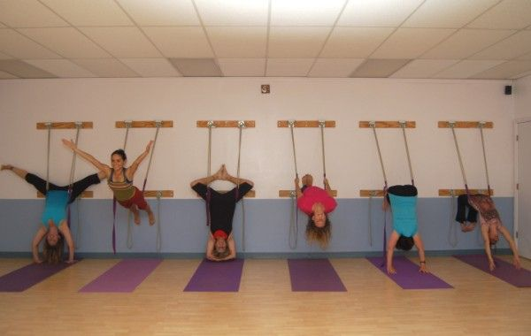 Nob HIll Studio Yoga ropes! by High Desert Yoga, Albuquerque, New Mexico, via Flickr
