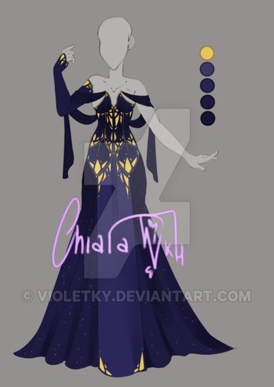 :: Adoptable Lapislazuli: AUCTION CLOSED:: by VioletKy.deviantart.com on @DeviantArt