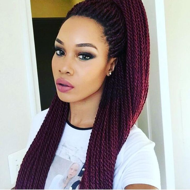 Superb 1000 Ideas About Senegalese Twists On Pinterest Box Braids Short Hairstyles For Black Women Fulllsitofus