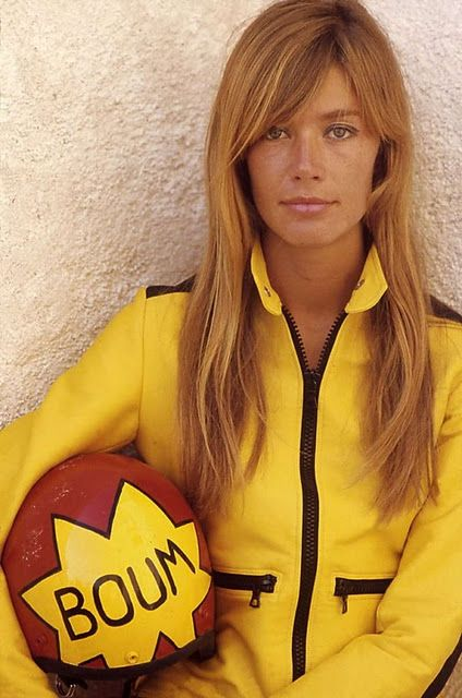 "Now we know we know Tarantino's inspiration for Uma's outfit in ""Kill Bill"". - Françoise Hardy"