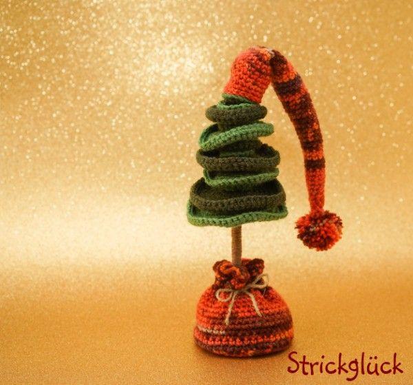 ber ideen zu weihnachtsb ume h keln auf pinterest. Black Bedroom Furniture Sets. Home Design Ideas