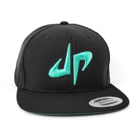 DP Snapback // Black + Green | Dude Perfect official storefront powered by Merchline