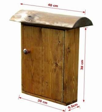 Оригинальные решения: уличный почтовый ящик своими руками