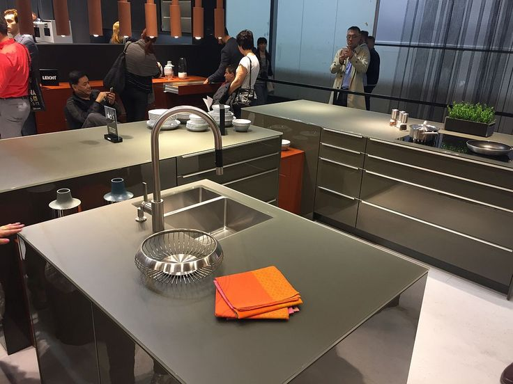 Kitchens Seen At Salone Del Mobile 2016 In Milan Array Of Ergonomic Kitchen Designs From Interior