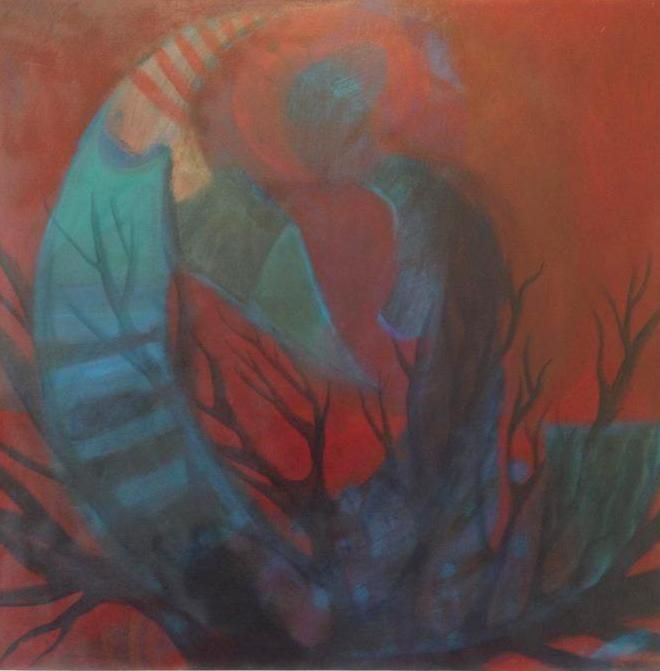 Serpil Kapar/Acrilic Painting
