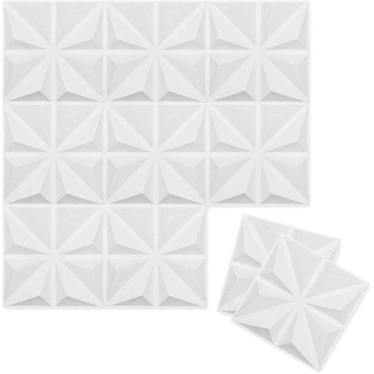 "Ekena Millwork Bailey 1.63' x 19.63"" 3D Wallpaper Panel & Reviews | Wayfair"