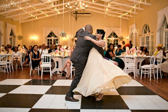 The First Dance; Unathi and Mtunzi's 1920′s Inspired Wedding; The Plantation, Port Elizabeth, South Africa