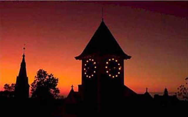 our clocktower, downtown New Bern, NC