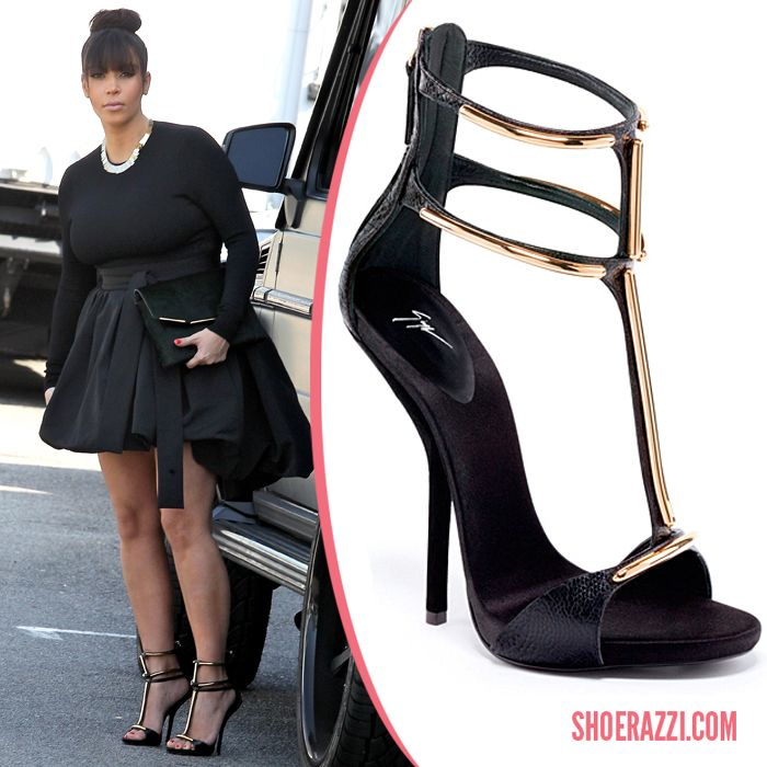 Kim Kardashian Shoes Celebrity Heels Shoerazzi Kim