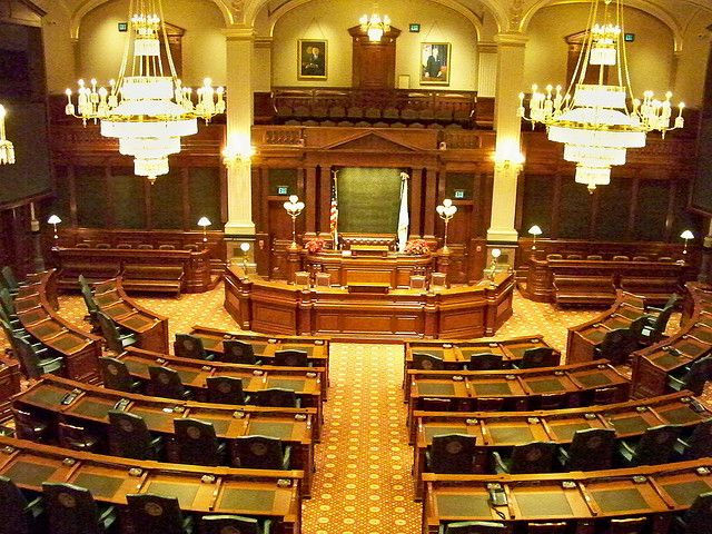The Illinois House Chamber