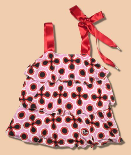 Vestido para niña. Patrones de costura simples.