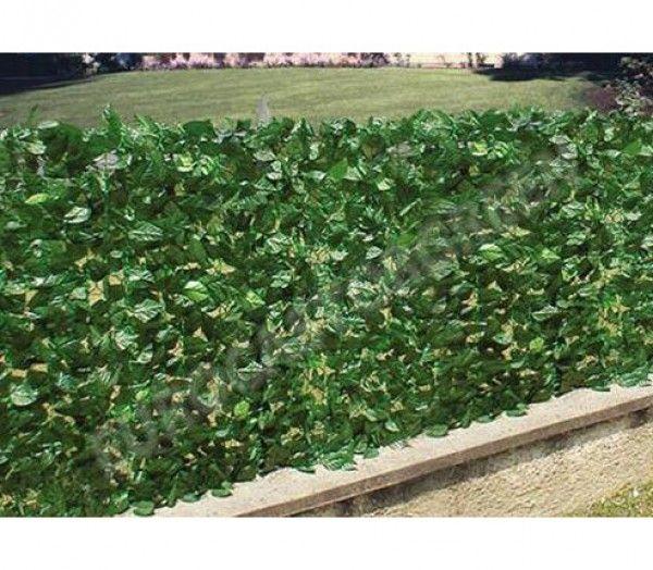 Brise vue imitation HAIE DE LAURIER en rouleau sur un support grillage plastique souple, viendra embellir et cacher le vis-à-vis de vos clôtures, vos balcons, vos terrasses, vos barrières de piscines et même vos murs. Le réalisme parfait des feuilles de laurier, et très naturel. La haie artificielle de laurier tient parfaitement en extérieur grâce au revêtement des feuilles avec du téflon.