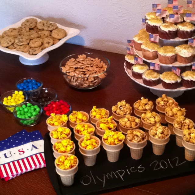 olympic party!