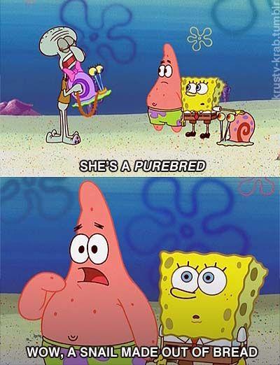 so funny. love spongebob <3