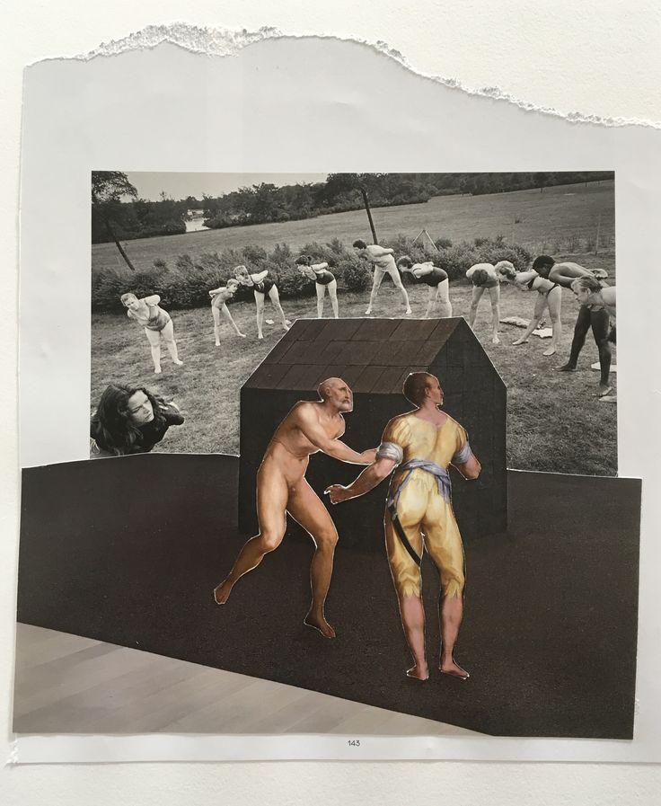 Markus Boesch / Collage 19 cm x 21,5 cm