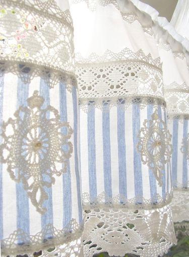 die 25 besten ideen zu shabby chic vorh nge auf pinterest vintage vorh nge m dchenraum. Black Bedroom Furniture Sets. Home Design Ideas