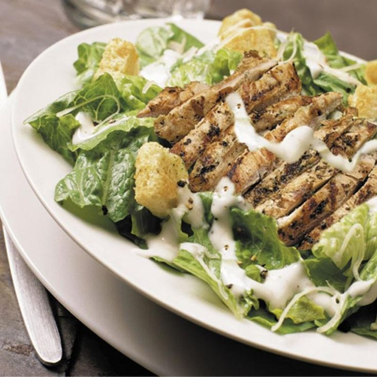 Grilled Chicken Caesar Salad - Extreme Pita - Zmenu, The Most Comprehensive Menu With Photos