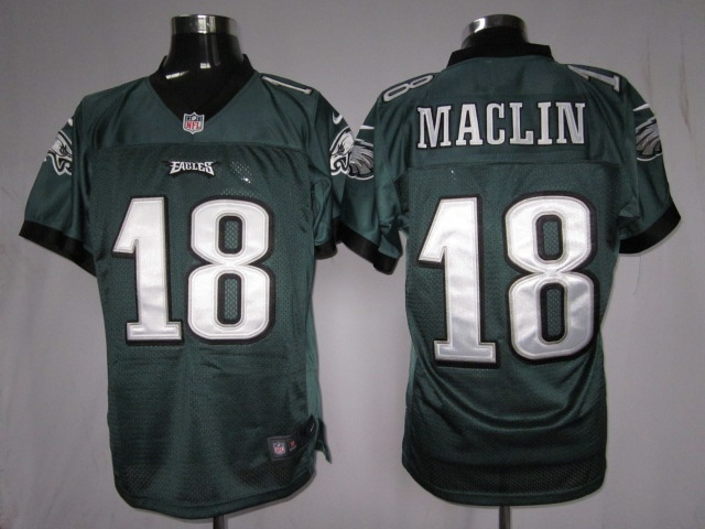 Eagles #18 Jeremy Maclin Green Nike NFL Elite Jersey ID:913300101 ...