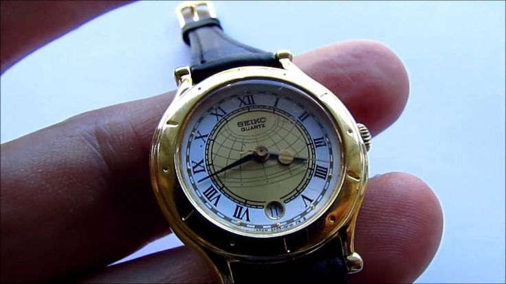 Seiko Age of Discovery 3Y02 0B00 Ladies Watch