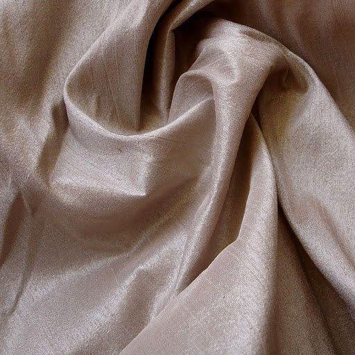 Peachish Beige Art Silk Fabric – 1 Yard