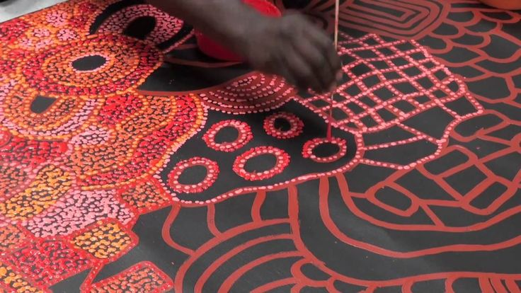 Aboriginal Artist Nellie Marks Nakamarra 1017 patterns and shapes