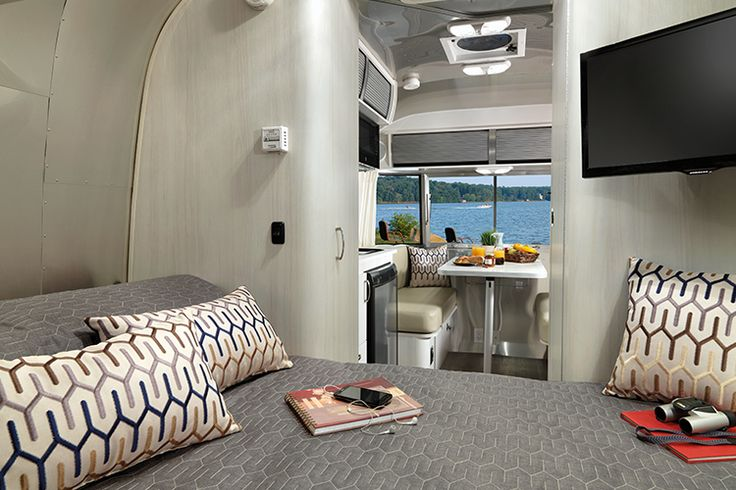 Outfit your new Airstream Sport Travel Trailer from Airstream with the interior décor that fits you. Find your ticket to the open road at Airstream.com.