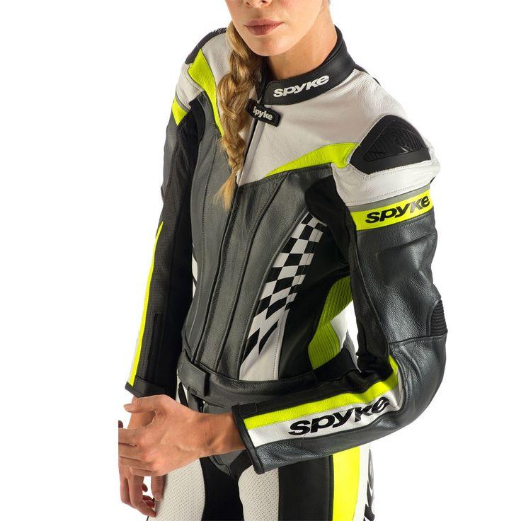 Tiendas de motos - Spyke 4RACE DIV Leather Motorcycle Suits for Women