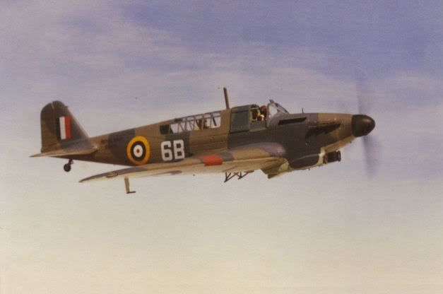 Fairey Fulmar Mk II, the final evolution of the ill-fated Battle light bomber, was used by the Royal Navy as a fleet defence fighter during WWII.