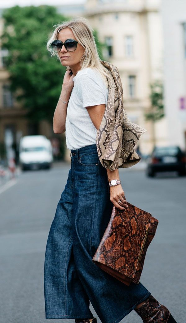 30 Best Trend Alert 8 Wide Leg Trousers Images On Pinterest Fashion Editorials Fashion Show