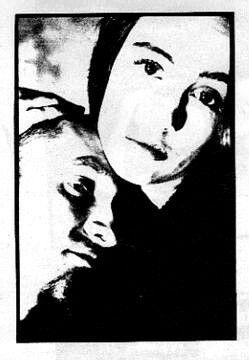 Layne Staley and Demri Lara Parrott Rare