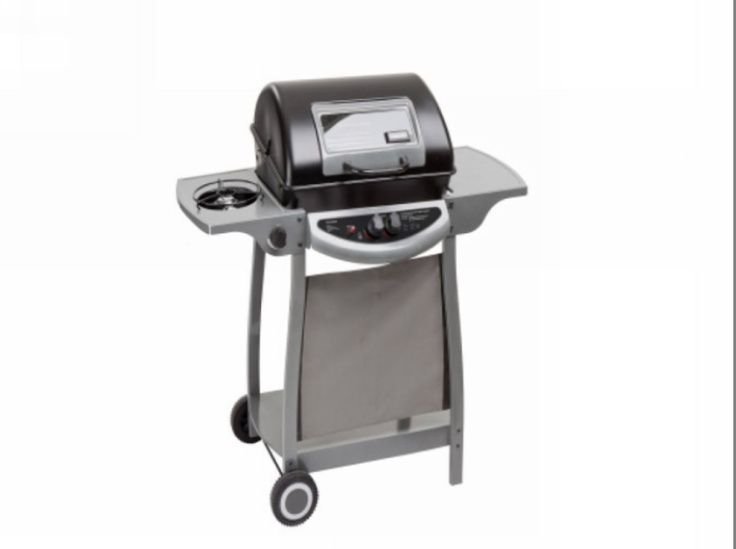 Landmann 2 Burner Portable Gas Bbq Grill With Side Burner