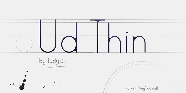 A new font design by me. Hope you like it. It's a thin, rounded sans-serif, but the twist is, it creates the illusion, that it has been written with too much ink, so the ink slightly drips off and there are no sharp corners. #font #type #design #typography