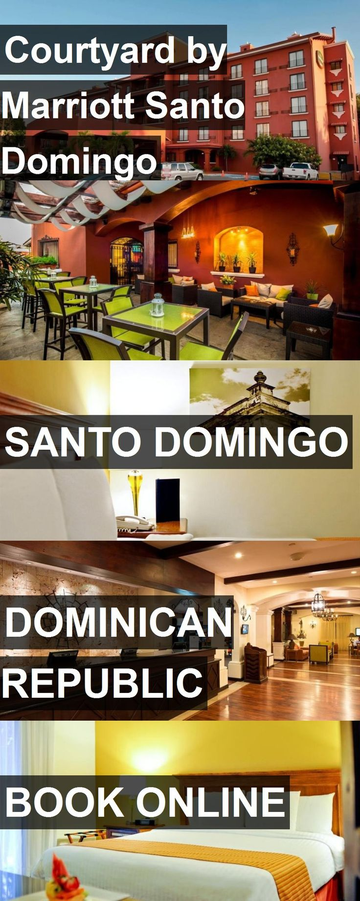 Hotel Courtyard by Marriott Santo Domingo in Santo Domingo, Dominican Republic. For more information, photos, reviews and best prices please follow the link. #DominicanRepublic #SantoDomingo #hotel #travel #vacation