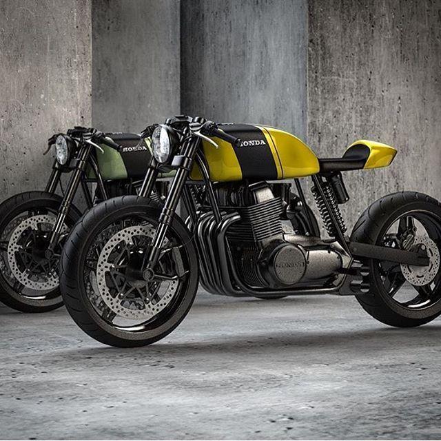 Honda CB750 cafe concept.